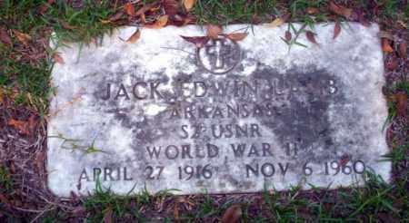 LAMB  (VETERAN WWII), JACK EDWIN - Ouachita County, Arkansas | JACK EDWIN LAMB  (VETERAN WWII) - Arkansas Gravestone Photos