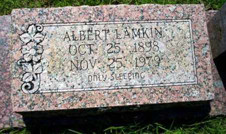 LAMKIN, ALBERT - Ouachita County, Arkansas | ALBERT LAMKIN - Arkansas Gravestone Photos