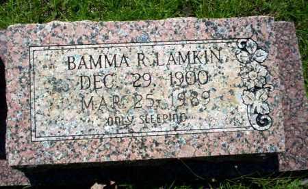 LAMKIN, BAMMA R. - Ouachita County, Arkansas   BAMMA R. LAMKIN - Arkansas Gravestone Photos