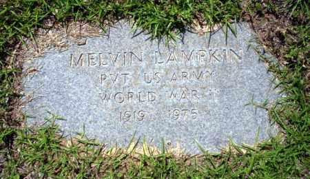 LAMPKIN  (VETERAN WWII), MELVIN - Ouachita County, Arkansas | MELVIN LAMPKIN  (VETERAN WWII) - Arkansas Gravestone Photos