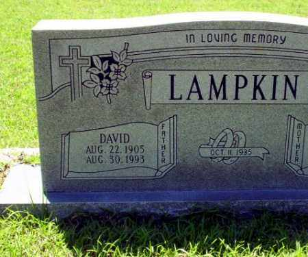 LAMPKIN, DAVID - Ouachita County, Arkansas | DAVID LAMPKIN - Arkansas Gravestone Photos