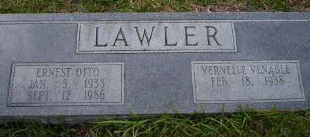 LAWLER, ERNEST OTTO - Ouachita County, Arkansas | ERNEST OTTO LAWLER - Arkansas Gravestone Photos