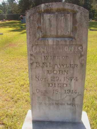 THOMAS LAWLER, FANNIE - Ouachita County, Arkansas | FANNIE THOMAS LAWLER - Arkansas Gravestone Photos