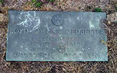 LEDBETTER (VETERAN WWII), LOYD OWEN - Ouachita County, Arkansas | LOYD OWEN LEDBETTER (VETERAN WWII) - Arkansas Gravestone Photos