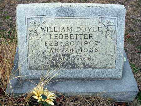 LEDBETTER, WILLIAM DOYLE - Ouachita County, Arkansas | WILLIAM DOYLE LEDBETTER - Arkansas Gravestone Photos
