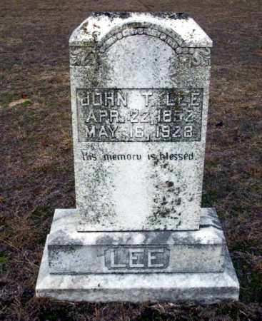 LEE, JOHN T - Ouachita County, Arkansas | JOHN T LEE - Arkansas Gravestone Photos
