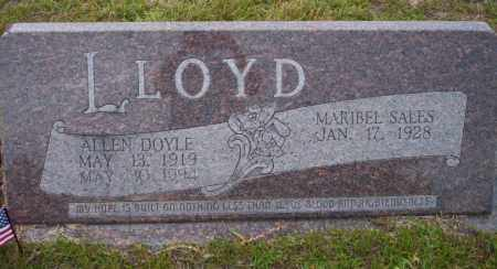 LLOYD, ALLEN DOYLE - Ouachita County, Arkansas | ALLEN DOYLE LLOYD - Arkansas Gravestone Photos