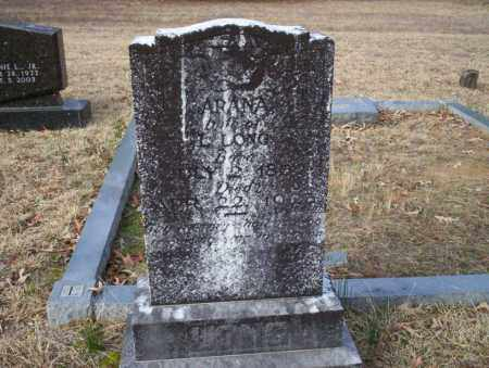LONG, ARANA - Ouachita County, Arkansas | ARANA LONG - Arkansas Gravestone Photos