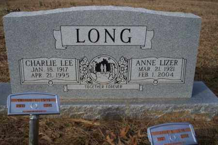 LONG, CHARLIE LEE - Ouachita County, Arkansas | CHARLIE LEE LONG - Arkansas Gravestone Photos