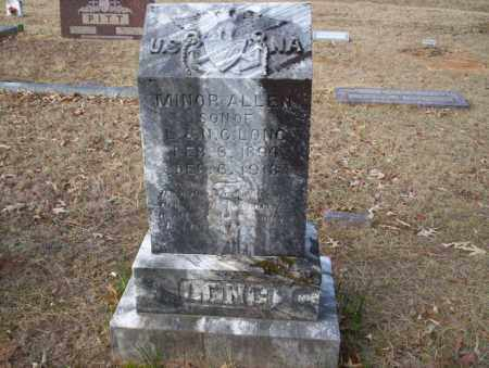 LONG, MINOR ALLEN - Ouachita County, Arkansas | MINOR ALLEN LONG - Arkansas Gravestone Photos