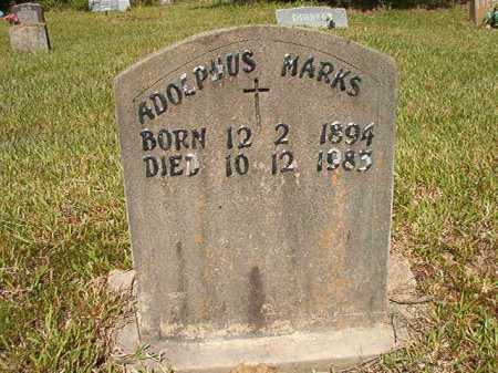 MARKS, ADOLPHUS - Ouachita County, Arkansas | ADOLPHUS MARKS - Arkansas Gravestone Photos