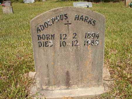 MARKS, ADOLPHUS - Ouachita County, Arkansas   ADOLPHUS MARKS - Arkansas Gravestone Photos