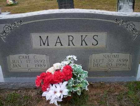 MARKS, CARL C - Ouachita County, Arkansas | CARL C MARKS - Arkansas Gravestone Photos