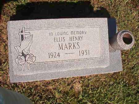 MARKS, ELLIS HENRY - Ouachita County, Arkansas | ELLIS HENRY MARKS - Arkansas Gravestone Photos