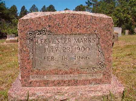 MARKS, LEEVESTER - Ouachita County, Arkansas | LEEVESTER MARKS - Arkansas Gravestone Photos
