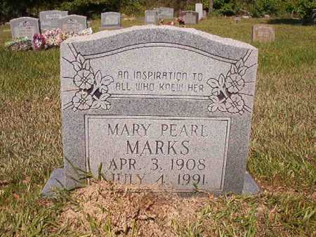 MARKS, MARY PEARL - Ouachita County, Arkansas | MARY PEARL MARKS - Arkansas Gravestone Photos