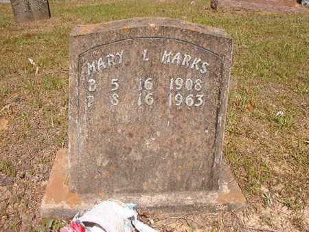 MARKS, MARY L - Ouachita County, Arkansas | MARY L MARKS - Arkansas Gravestone Photos