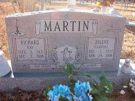 CARROLL MARTIN, RILENE - Ouachita County, Arkansas | RILENE CARROLL MARTIN - Arkansas Gravestone Photos