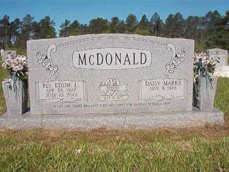 MCDONALD, REV, EDDIE L - Ouachita County, Arkansas | EDDIE L MCDONALD, REV - Arkansas Gravestone Photos