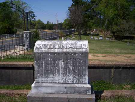 MCDONALD, MARY E - Ouachita County, Arkansas | MARY E MCDONALD - Arkansas Gravestone Photos