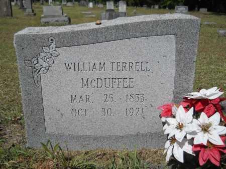MCDUFFEE, WILLIAM TERRELL - Ouachita County, Arkansas | WILLIAM TERRELL MCDUFFEE - Arkansas Gravestone Photos