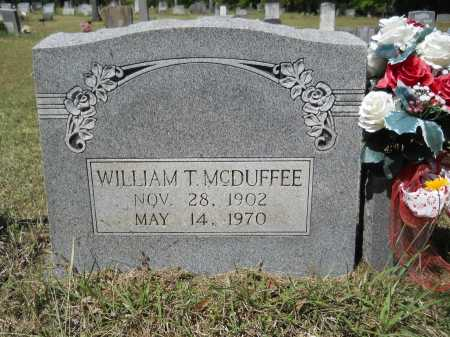 MCDUFFEE, WILLIAM T - Ouachita County, Arkansas | WILLIAM T MCDUFFEE - Arkansas Gravestone Photos