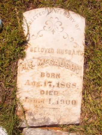 MCGAUGHY, H E - Ouachita County, Arkansas | H E MCGAUGHY - Arkansas Gravestone Photos