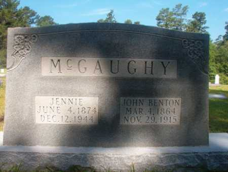 MCGAUGHY, JENNIE - Ouachita County, Arkansas | JENNIE MCGAUGHY - Arkansas Gravestone Photos