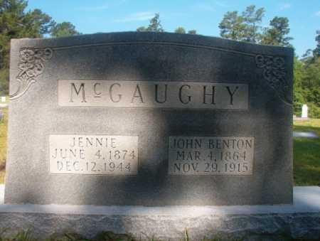 MCGAUGHY, JOHN BENTON - Ouachita County, Arkansas | JOHN BENTON MCGAUGHY - Arkansas Gravestone Photos