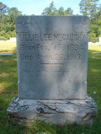 MCGAUGHY, LILLIE LEE - Ouachita County, Arkansas | LILLIE LEE MCGAUGHY - Arkansas Gravestone Photos