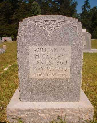 MCGAUGHY, WILLIAM W - Ouachita County, Arkansas | WILLIAM W MCGAUGHY - Arkansas Gravestone Photos