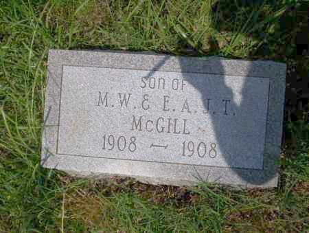 MCGILL, SON - Ouachita County, Arkansas | SON MCGILL - Arkansas Gravestone Photos