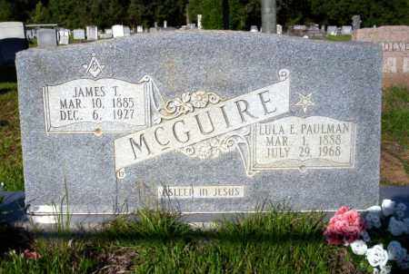 MCGUIRE, JAMES T - Ouachita County, Arkansas | JAMES T MCGUIRE - Arkansas Gravestone Photos