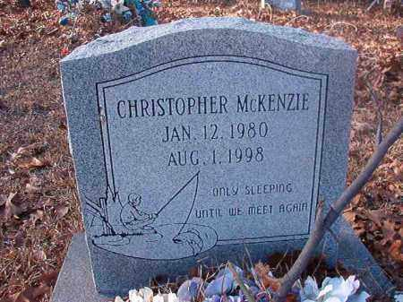 MCKENZIE, CHRISTOPHER - Ouachita County, Arkansas | CHRISTOPHER MCKENZIE - Arkansas Gravestone Photos