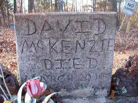 MCKENZIE, DAVID - Ouachita County, Arkansas | DAVID MCKENZIE - Arkansas Gravestone Photos