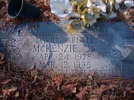 MCKENZIE, JR, DAVID DARNELL - Ouachita County, Arkansas | DAVID DARNELL MCKENZIE, JR - Arkansas Gravestone Photos
