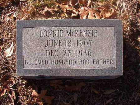 MCKENZIE, LONNIE - Ouachita County, Arkansas | LONNIE MCKENZIE - Arkansas Gravestone Photos