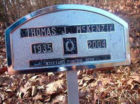 MCKENZIE, THOMAS J - Ouachita County, Arkansas | THOMAS J MCKENZIE - Arkansas Gravestone Photos