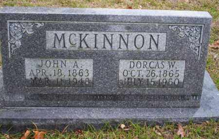 MCKINNON, JOHN A - Ouachita County, Arkansas | JOHN A MCKINNON - Arkansas Gravestone Photos