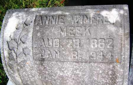 MEEK, ANNIE - Ouachita County, Arkansas | ANNIE MEEK - Arkansas Gravestone Photos