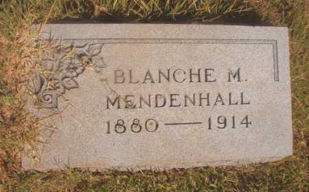 MENDENHALL, BLANCHE M - Ouachita County, Arkansas | BLANCHE M MENDENHALL - Arkansas Gravestone Photos