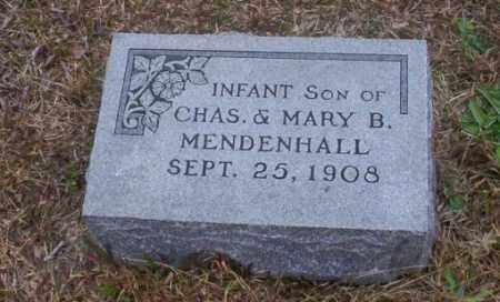 MENDENHALL, INFANT SON - Ouachita County, Arkansas | INFANT SON MENDENHALL - Arkansas Gravestone Photos