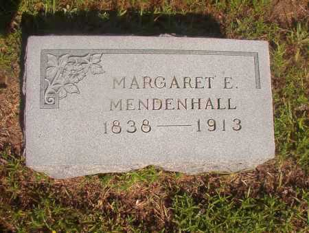 MENDENHALL, MARGARET E - Ouachita County, Arkansas | MARGARET E MENDENHALL - Arkansas Gravestone Photos