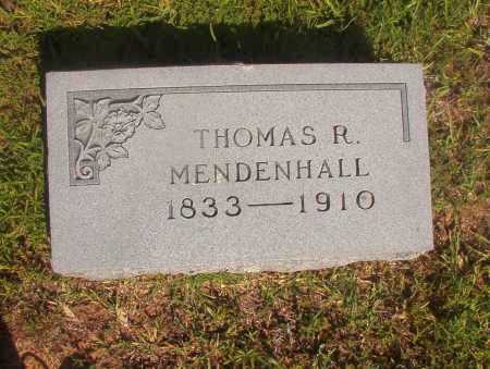 MENDENHALL, THOMAS R - Ouachita County, Arkansas | THOMAS R MENDENHALL - Arkansas Gravestone Photos