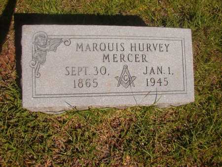 MERCER, MARQUIS HURVEY - Ouachita County, Arkansas | MARQUIS HURVEY MERCER - Arkansas Gravestone Photos