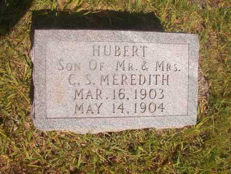 MEREDITH, HUBERT - Ouachita County, Arkansas | HUBERT MEREDITH - Arkansas Gravestone Photos