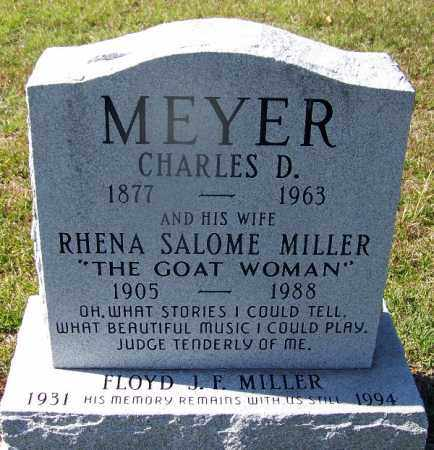 MEYER, RHENA SALOME - Ouachita County, Arkansas | RHENA SALOME MEYER - Arkansas Gravestone Photos