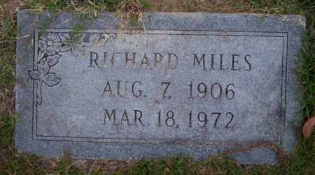 MILES, RICHARD - Ouachita County, Arkansas | RICHARD MILES - Arkansas Gravestone Photos