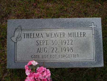WEAVER MILLER, THELMA - Ouachita County, Arkansas | THELMA WEAVER MILLER - Arkansas Gravestone Photos
