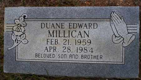 MILLICAN, DUANE EDWARD - Ouachita County, Arkansas | DUANE EDWARD MILLICAN - Arkansas Gravestone Photos